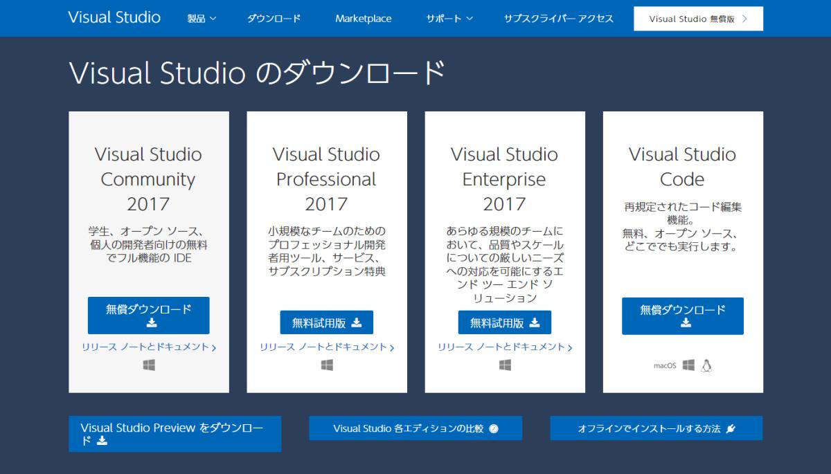 Visual StudioのPython環境で気になった点